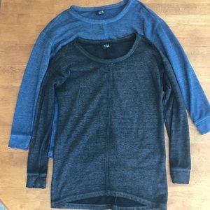 Cozy Long Sleeve Sweaters x2
